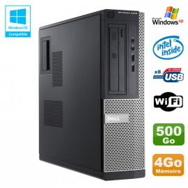 PC DELL Optiplex 3010 DT Intel G640 2.8Ghz 4Go 500Go DVD WIFI HDMI Win XP