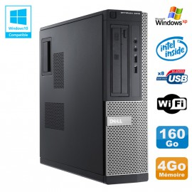 PC DELL Optiplex 3010 DT Intel G2020 2.9Ghz 4Go 160Go DVD WIFI HDMI Win XP