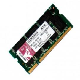 512Mo RAM PC Portable SODIMM Kingston KVR333X64SC25/512 DDR1 PC-2700 333MHz