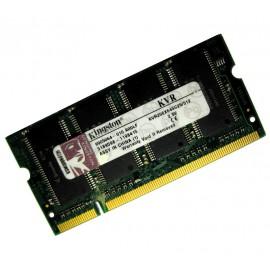 512Mo RAM PC Portable SODIMM Kingston KVR266X64SC25/512 DDR1 PC-2100 266MHz