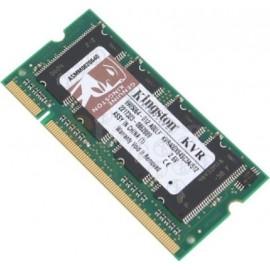 512Mo RAM PC Portable SODIMM Kingston KVR400X64SC3A/512M DDR1 PC-3200 400MHz