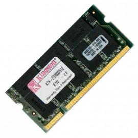 512Mo RAM PC Portable SODIMM Kingston KTH-ZD7000/512 DDR1 PC-2700 333MHz