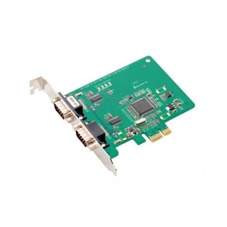 Carte PCI-E EXPRESS Série 2 Ports RS232 DB9 Moxa CP-102E Linux Windows 7 XP Seven