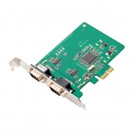Carte Série MOXA CP-102E PCI-Express 2 Ports RS232 DB9F NEUVE