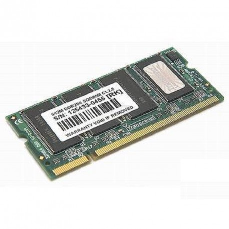 512Mo RAM PC Portable SODIMM Transcend TS64MSD64V6M DDR1 PC-2100 266MHz