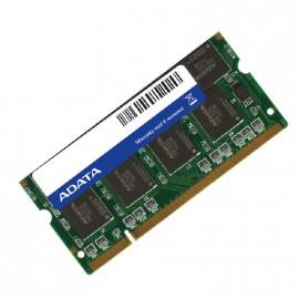 512Mo RAM PC Portable SODIMM Adata MDOAD4F4H3450B1C09 DDR1 PC-2700 333MHz