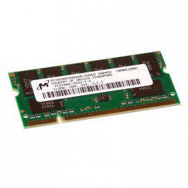 512Mo RAM PC Portable SODIMM Micron Tech MT16VDDF6464HG-335G2 DDR1 PC-2700 333MHz