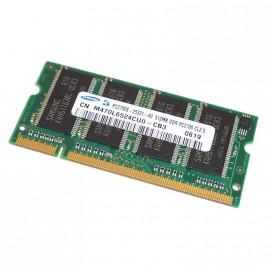 512Mo RAM PC Portable SODIMM Samsung M470L6524CU0-CB3 DDR1 PC-2700 333MHz