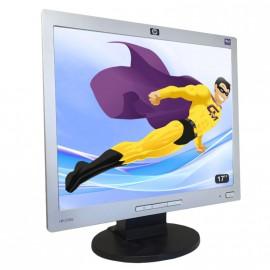 "Ecran Plat PC 17"" LCD HP L1706 1280x1024 43cm Réglable VGA HPVESA"
