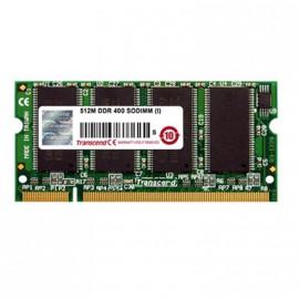 512Mo RAM PC Portable SODIMM Transcend TS64MSD64V4J DDR1 PC-3200 1Rx8 400MHz