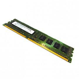 4Go RAM PC DIMM Micron MT8JTF51264AZ-1G6E1 DDR3 PC3-12800U 1Rx8 CL11 1600MHz