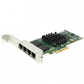 Carte Réseau 4x Ports Ethernet Gigabit Intel E1G44HTG1P20 I340-T4 PCIe Standard