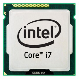 Processeur CPU Intel Core I7-870 2.93Ghz 8Mo 2.5GT/s LGA1156 Quad Core SLBJG