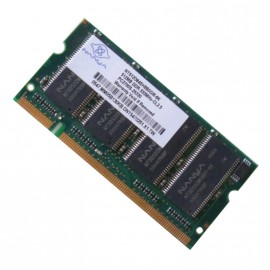 512Mo RAM PC Portable SODIMM Nanya NT512D64SH8B0GM-6K DDR1 1Rx8 PC-2700S 333MHz