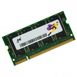 512Mo RAM PC Portable SODIMM Micron MT8VDDT6464HY-335D1 DDR1 1Rx8 PC-2700 333MHz