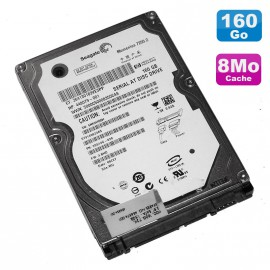 "Disque Dur 160Go SATA 2.5"" Seagate ST9160823AS 7200RPM 8Mo Momentus Pc Portable"