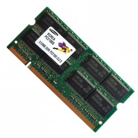512Mo RAM PC Portable SODIMM Samsung M470L6423DN0-CB0 DDR1 PC-2100S 266MHz