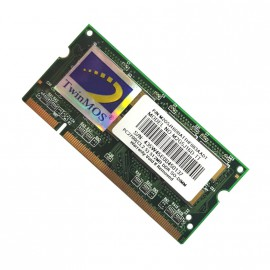 512Mo RAM PC Portable SODIMM TwinMOS M2G5J16D-TT DDR1 PC-2700S 333MHz