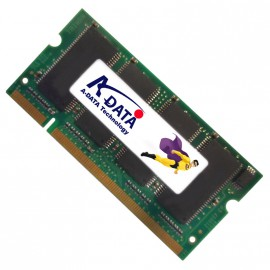 512Mo RAM PC Portable SODIMM Adata MDOAD4G3H3460D1E58 DDR1 PC-2700 333MHz