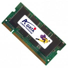 512Mo RAM PC Portable SODIMM Adata MDOAD4G3H3460D1E58 DDR1 PC-2700 333MHz
