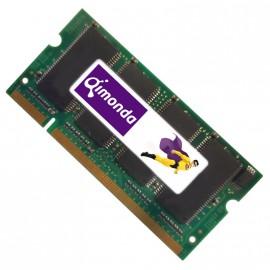 512Mo RAM PC Portable SODIMM Qimonda GW30512ADIFQ672LWC0 DDR1 PC-3200 400MHz