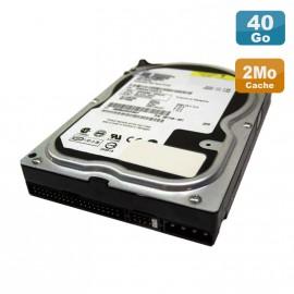 "Disque Dur 40Go IDE ATA 3.5"" Western Digital Caviar WD400BB-60DGA0 7200RPM 2Mo"