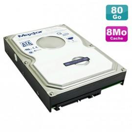 "Disque Dur 80Go SATA 3.5"" Maxtor DiamondMax 10 6L080M0 7200RPM 8Mo"