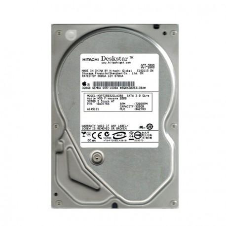 """Disque Dur 320Go Hitachi Deskstar HDP725032GLA380 3.5"""" Sata II 8Mo"""