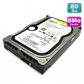 "Disque Dur 80Go SATA 3.5"" Western Digital Raptor WD800GD-75FLC3 10000RPM 8Mo"