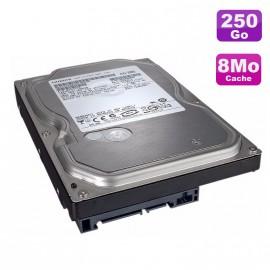 """Disque Dur 250Go SATA 3.5"""" Hitachi Deskstar 7K1000.B HDT721025SLA380 7200RPM 8Mo"""
