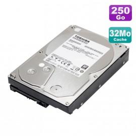 """Disque Dur 250Go SATA 3.5"""" Toshiba DT01ACA025 7200RPM 32Mo"""