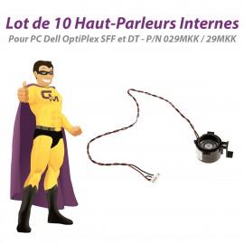 Lot x10 Haut-Parleurs Dell 390 790 3010 3020 7010 7020 9010 9020 SFF DT 029MKK