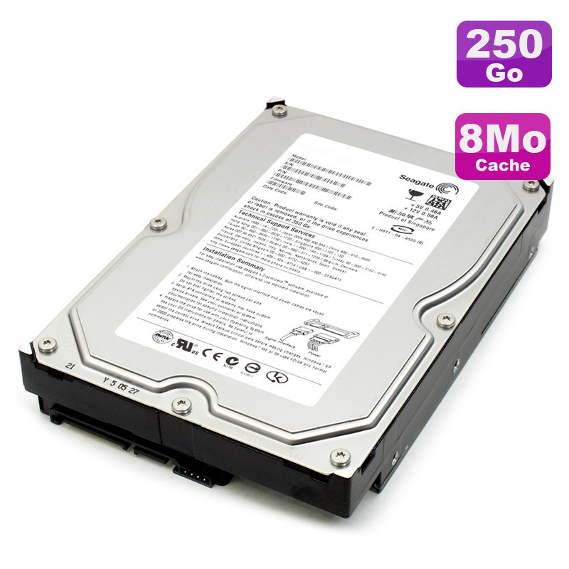 disque dur 250go sata 3 5 seagate barracuda st3250310as 7200rpm 8mo monsieurcyberman. Black Bedroom Furniture Sets. Home Design Ideas