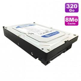 """Disque Dur 320Go SATA 3.5"""" Western Digital Caviar Blue WD3200AAJS-08L7A0 7200 8Mo"""