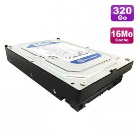 """Disque Dur 320Go SATA 3.5"""" Western Digital Caviar Blue WD3200AAKS-75L9A0 7200 16Mo"""