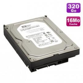 """Disque Dur 320Go SATA 3.5"""" Western Digital WD3200AAKS-75SBA0 7200RPM 16Mo"""