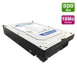 "Disque Dur 500Go SATA 3.5"" Western Digital Caviar Blue WD5000AAKX-75U6AA0 7200 16Mo"