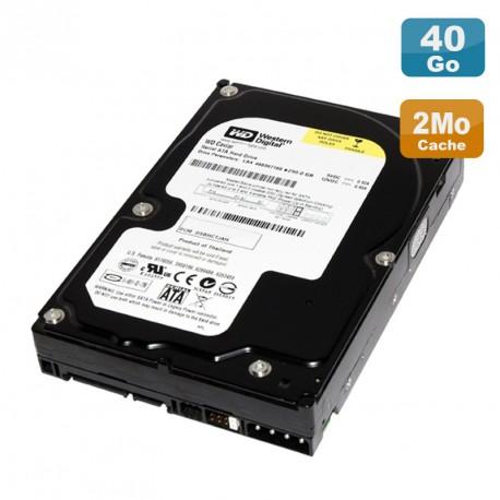 """Disque Dur 40Go SATA 3.5"""" Western Digital Caviar WD400BD-60LRA5 7200RPM 2Mo"""