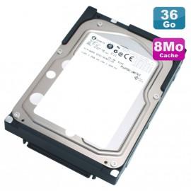 "Disque Dur 36Go Ultra SCSI 320 3.5"" Fujitsu Entreprise MAX3036NC 15000RPM 80Pin 8Mo"