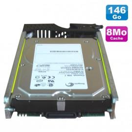 Disque Dur 146Go Fibre Channel Seagate ST3146707FCV + Rack EMC 051-000-205 NEUF