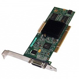 Carte Graphique MATROX F7011-0001 REV_A MGI G55MDDAP32DBF 32Mo PCI LFH-60 DMS-60