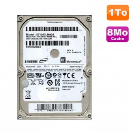 "Disque Dur 1To SATA 2.5"" Samsung Momentus ST1000LM024 Pc Portable"