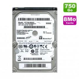 "Disque Dur 750Go SATA 2.5"" Samsung Momentus ST750LM022 Pc Portable 8Mo"