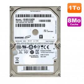 "Disque Dur 1To SATA 2.5"" Samsung Spinpoint HN-M101MBB Pc Portable 8Mo"