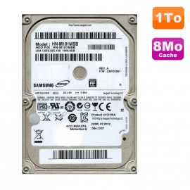 "Disque Dur 1To SATA 2.5"" Samsung Spinpoint HN-M101MBB Pc Portable"