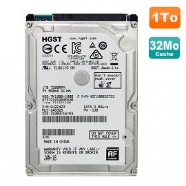 "Disque Dur 1To SATA 2.5"" Hgst HTS721010A9E630 Pc Portable"