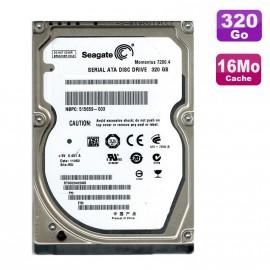 """Disque Dur 320Go SATA 2.5"""" Seagate Momentus ST9320423AS Pc Portable 16Mo"""