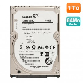 "Disque Dur 1To SATA 2.5"" Seagate Laptop SSHD ST1000LM014 Pc Portable"