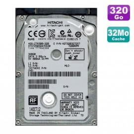 "Disque Dur 320Go SATA 2.5"" Hgst HTS725032A7E630 Pc Portable"