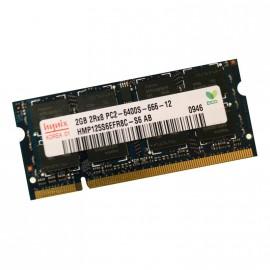 2Go RAM PC Portable SODIMM HYNIX HMP125S6EFR8C-S6AB DDR2 PC2-6400 800MHz CL6